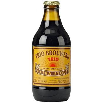 Пиво Trio Extra Stout Тёмное фильтрованное алк. 7,2%, 0.33 л