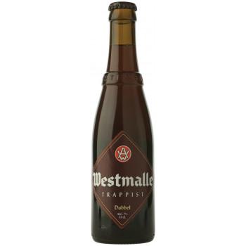 """Пиво Westmalle, """"Trappist"""" Dubbel тёмное 7%,  0.33 л"""
