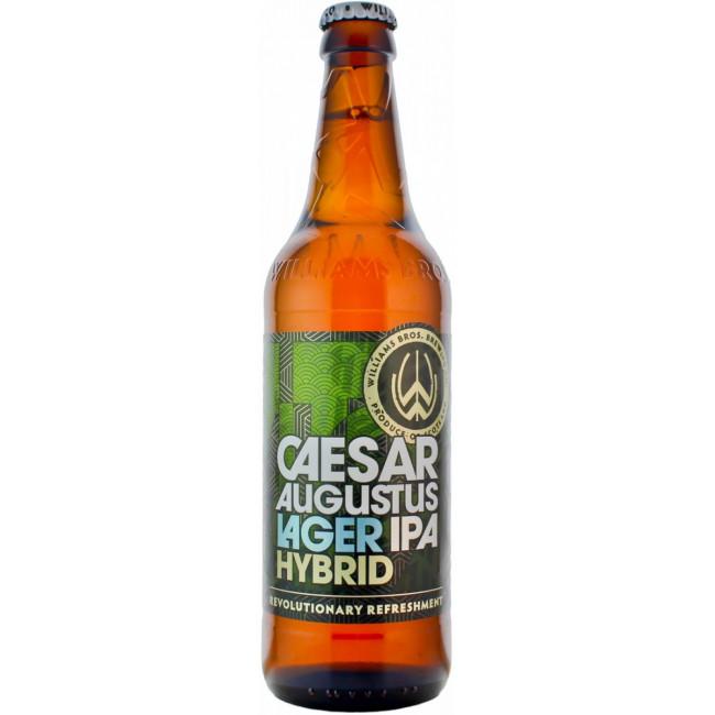 Пиво Williams Caesar Augustus Светлое фильтрованное алк. 4,1%, 0.5 л