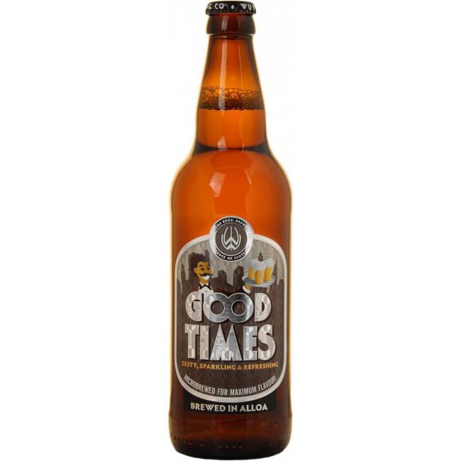 """Пиво Williams""""Good Times"""" Шотландский светлый эль 5%, 0.5 л"""