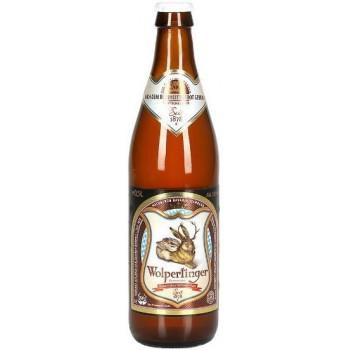 Пиво Wolpertinger Naturtrubes Hefeweissbier Светлое пшеничное нефильтрованное алк. 5%, 0,5 л