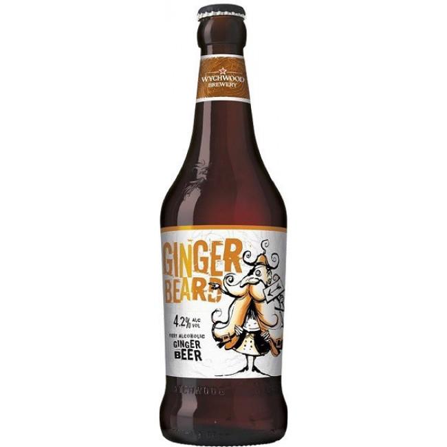 Пиво Wychwood Ginger Beard Средне-янтарное фильтрованное 4,2%, 0.5 л