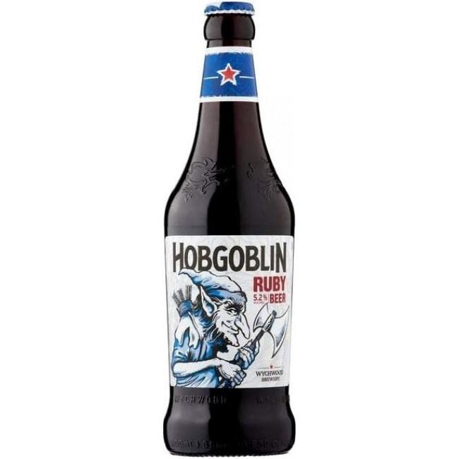 Пиво Wychwood Hobgoblin Тёмное фильтрованное 5,2%, 0.5 л