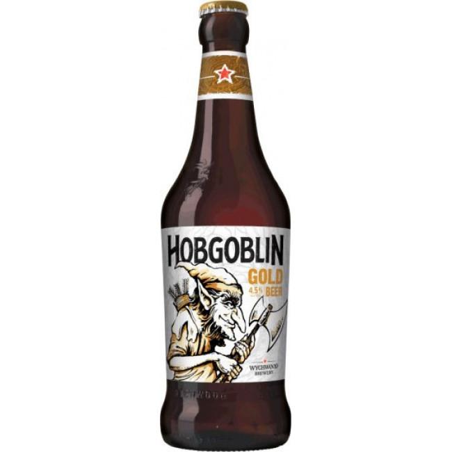 Пиво Wychwood Hobgoblin Gold Светлое фильтрованное 4,5%, 0.5 л
