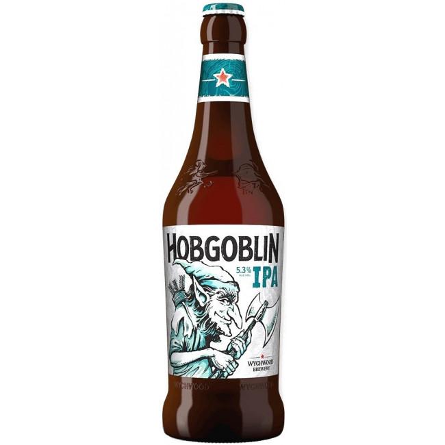 Пиво Wychwood Hobgoblin IPA Светлое фильтрованное 5,3%, 0.5 л