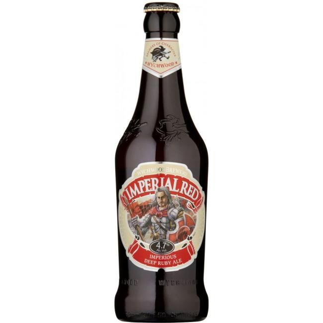 Пиво Wychwood Imperial Red Тёмное фильтрованное алк. 4,7%, 0.5 л