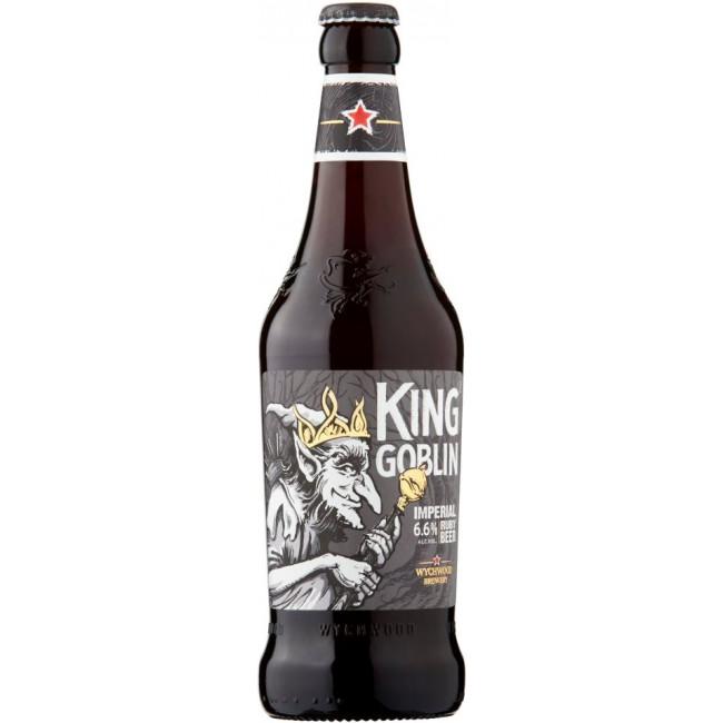 Пиво Wychwood King Goblin Тёмное фильтрованное алк. 6,6%, 0.5 л