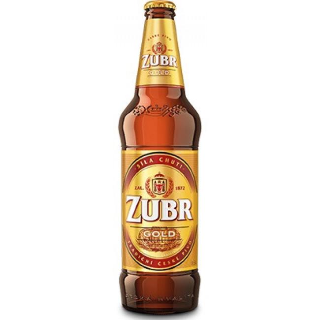 Пиво Zubr Gold Светлое фильтрованное алк. 4,6%, 0.5 л