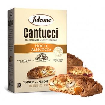 Печенье сахарное Falcone Cantucci с грецким орехом и абрикосом