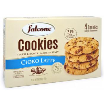 Печенье Falcone Cookies с молочным шоколадом