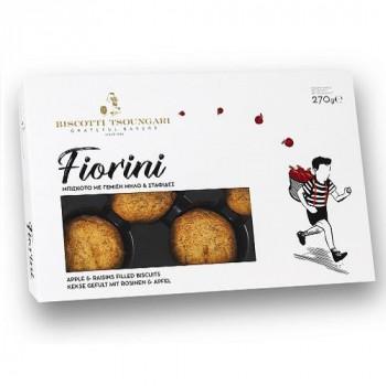 """Печенье сдобное с яблочной начинкой и изюмом """"Fiorini"""""""