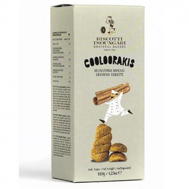 Печенье сдобное с корицей COOLOORAKIS