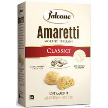 Печенье сдобное, мягкое, Falcone Amaretti классические