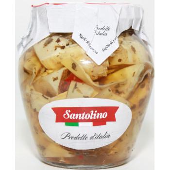 Артишоки в оливковом масле со специями Santolino 314 мл.