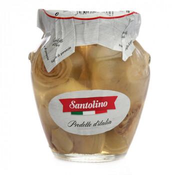 Артишоки целые в оливковом масле Santolino 314 мл.