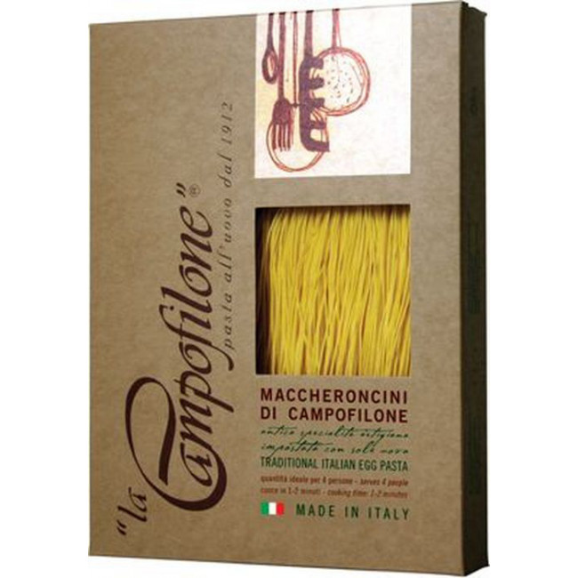 Макаронные изделия Маккерончини, Marcuzzi di Campofilone 250 г.