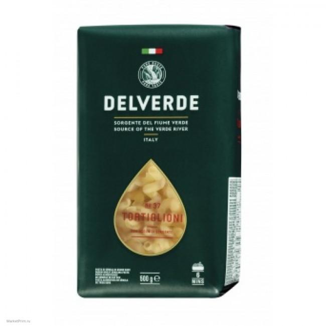Макароны № 037 Тортильони Delverde 500 г.
