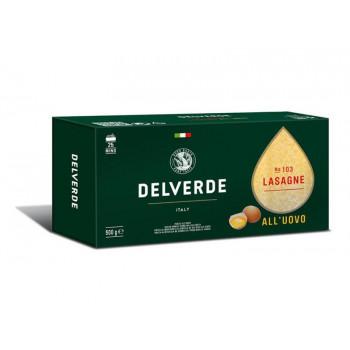 "Макароны № 103 Лазанье ""Дельверде"" яичные Delverde 500 г."