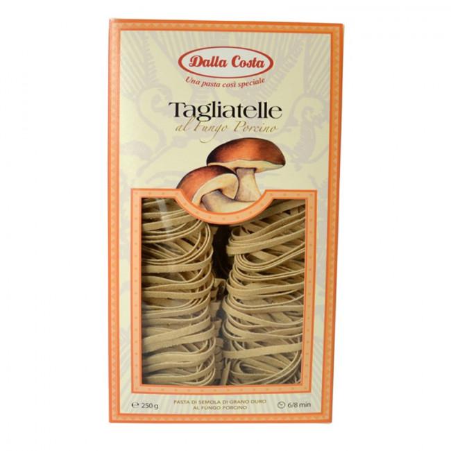 Тальятелле с белыми грибами Dalla Costa 250 г