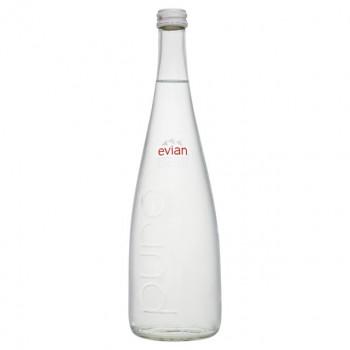 Вода мин. EVIAN ЭВИАН стекло, 0,75