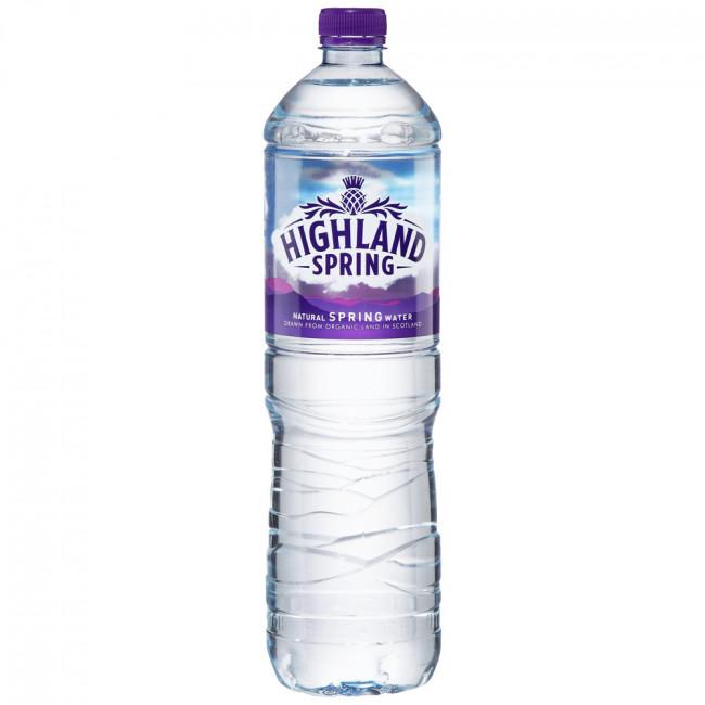 Вода минеральная Хайленд, 1,5л