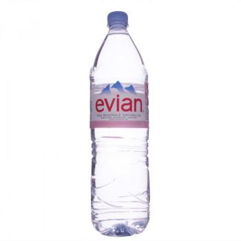 Вода мин. EVIAN ЭВИАН п\б , 1,5