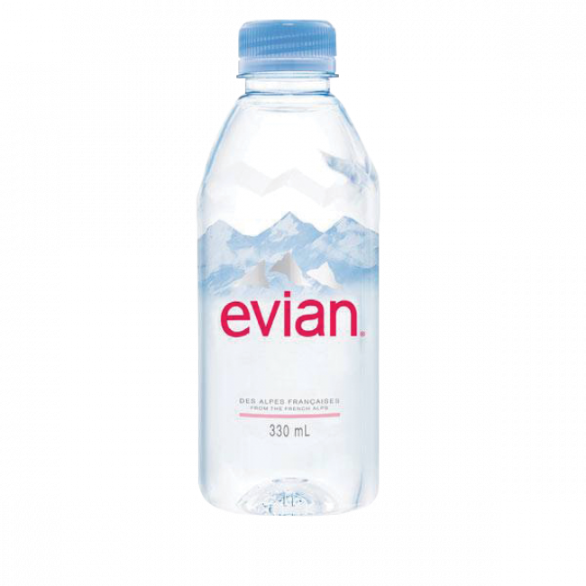 Вода мин. EVIAN ЭВИАН Престиж п\б , 0,33