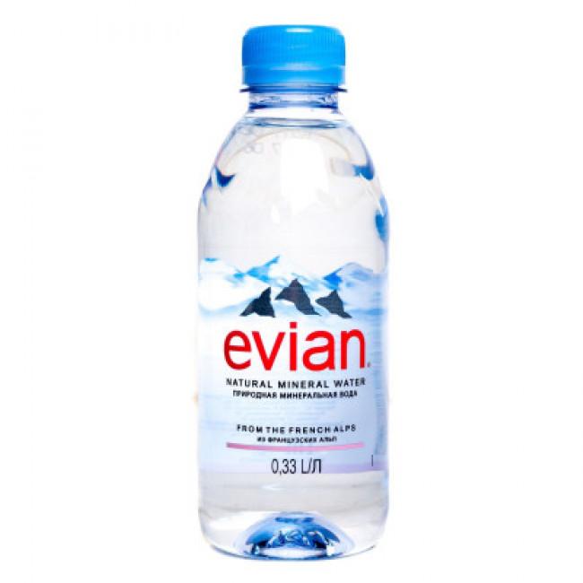 Вода мин. EVIAN ЭВИАН п\б , 0,33