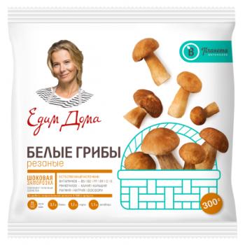 Грибы Белые резаные замороженные Планета витаминов, 300 гр