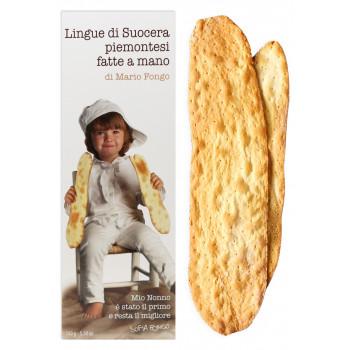 """Хрустящие хлебцы Mario Fongo """"Тещины языки Пьемонтские"""", 150 гр"""