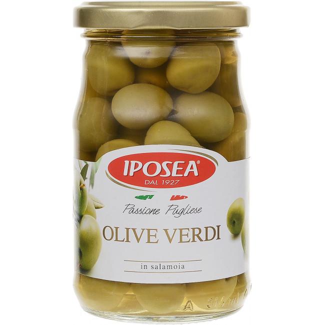 Оливки целые Iposea, 290 гр