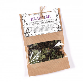 Иван-Чай Таёжный тайник с листом смородины, 50 гр.