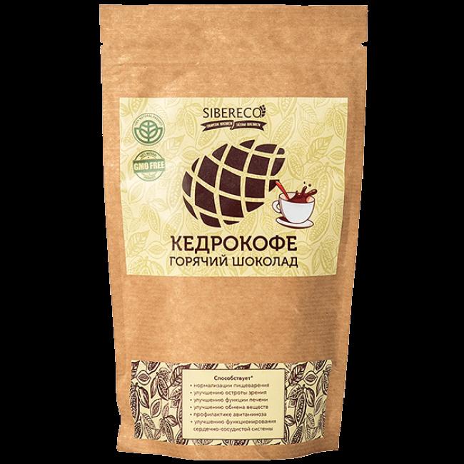 Кедрокофе Sibereco горячий шоколад, 250 гр