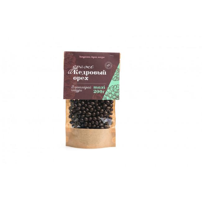Кедровый орех Солнечная Сибирь в шоколадной глазури, 200 гр