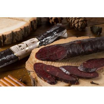 Колбаса махан Деликатес дичь из мяса Конины, 220 гр