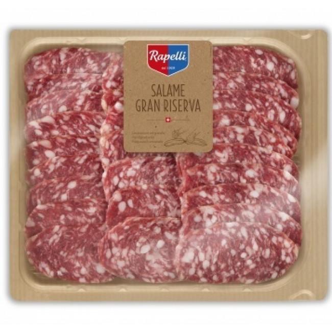 Колбаса Rapelli Салями Фелино Гран Ризерва сыровяленая нарезка, 200 гр