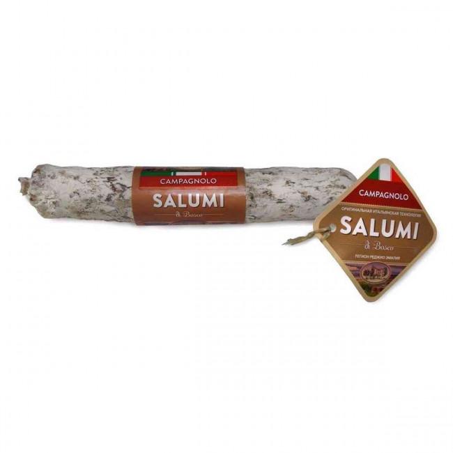 Колбаса сыровяленая полусухая Salumi di Bosco Салями Кампаньоло, 200 г