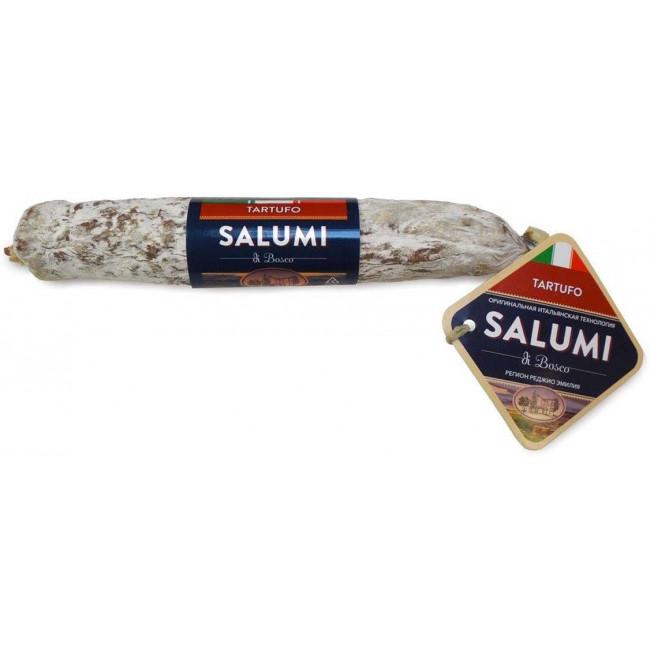 """Колбаса Salumi di Bosco сыровяленая полусухая """"Салями с трюфелем"""", 200 гр"""