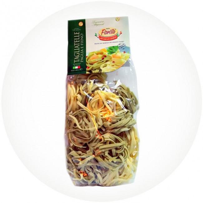 Макаронные изделия ручной работы Pastificio Fiorillo со шпинатом, 500 гр