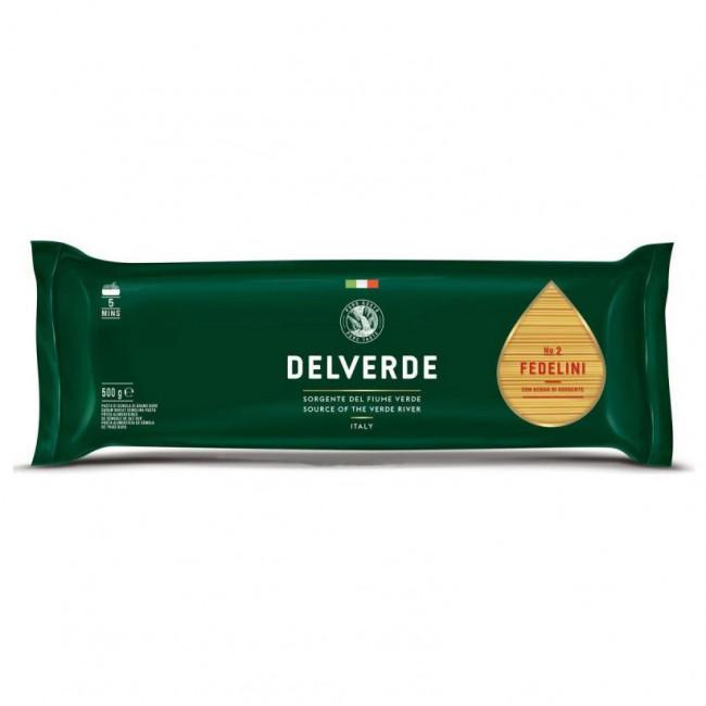 Макароны Delverde № 002 Феделини, 500 гр
