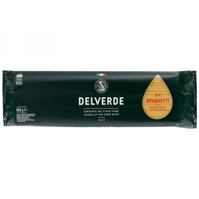 Макароны Delverde № 004 Спагетти, 500 гр