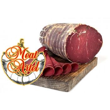 """Говядина Meat Artel """"Брезаола"""" сыровяленая ручная нарезка, 100 гр"""