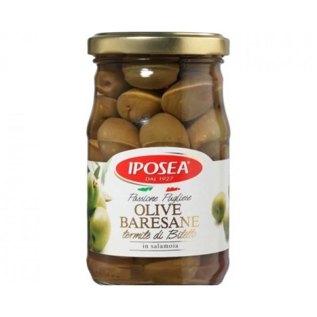 Оливки Iposea барийские Термите ди Битетто, 280 гр