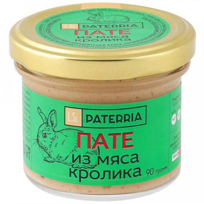 Пате Paterria из мяса кролика, 90гр