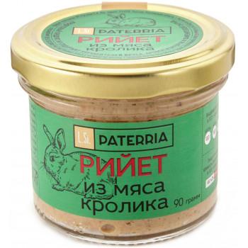 Рийет Paterria из мяса кролика, 90гр