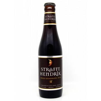 """Пиво De Halve Maan """"Штраффе Хендрик. Брюгс Кв. Бьер"""" тёмное алк. 11%, 0,33 л"""