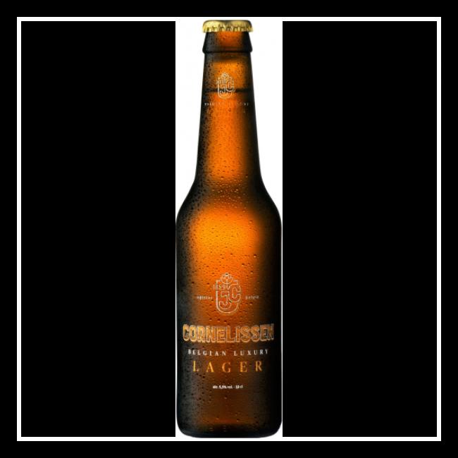 Пиво Cornelisser Lager Светлое пастеризованное фильтрованное алк. 5,5%, 0,33 л