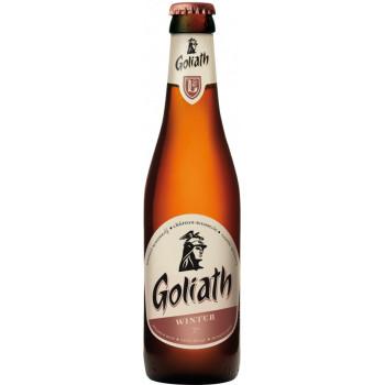 "Пиво Brasserie des Legendes""Goliath"" Winter тёмное, 0.33 л"
