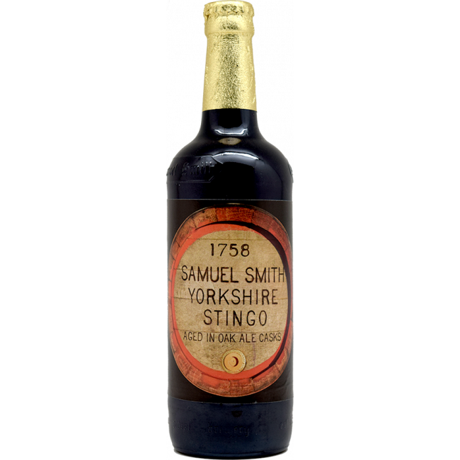 Пиво Samuel Smiths Yorkshire Stingo Йоркшир Стинго тёмное алк. 8%, 0,55 л