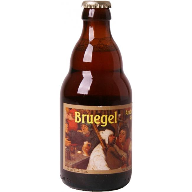 Пиво Van Steenberge Bruegel Светлое фильтрованное алк. 5,2%, 0,33 л